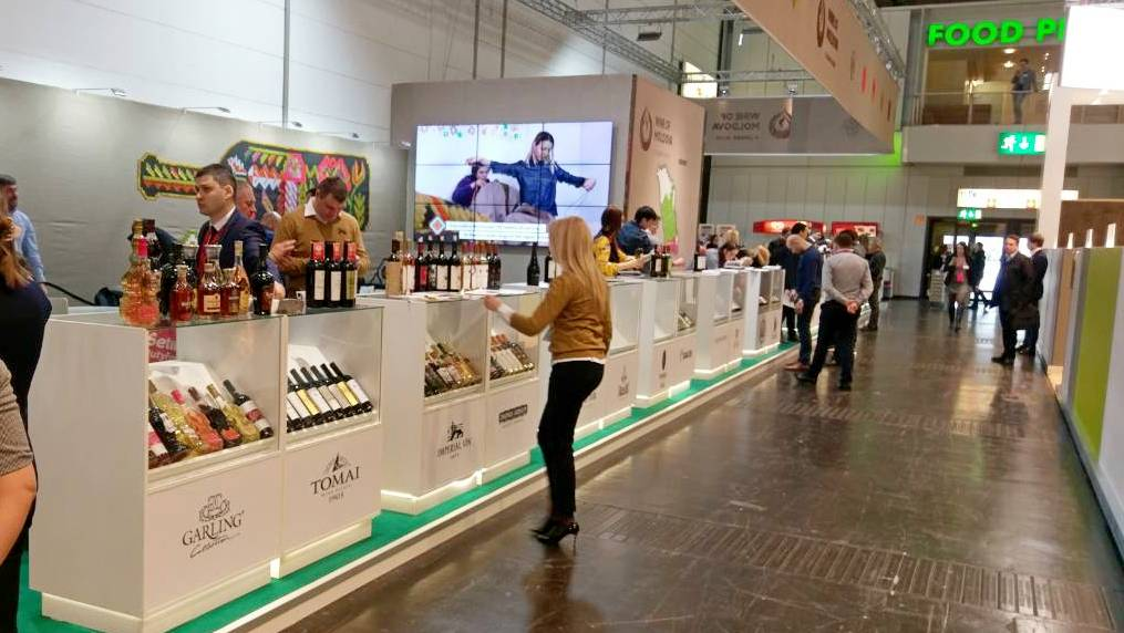Trade fair No. 1, ProWein 2018 in Düsseldorf