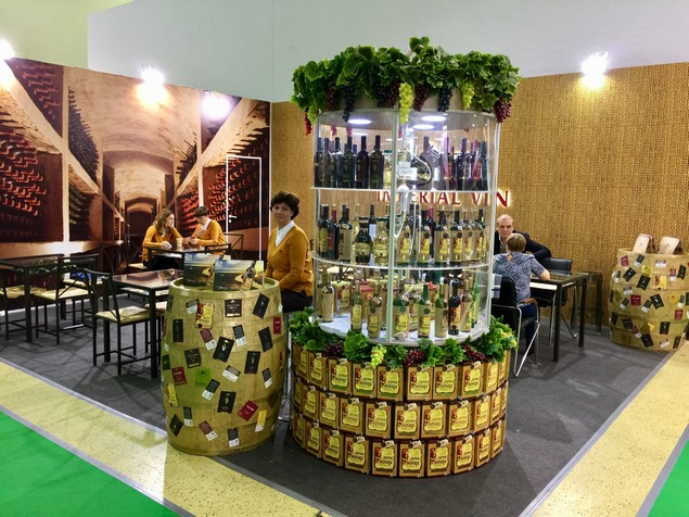 The Imperial Wine Company took part in the exhibition