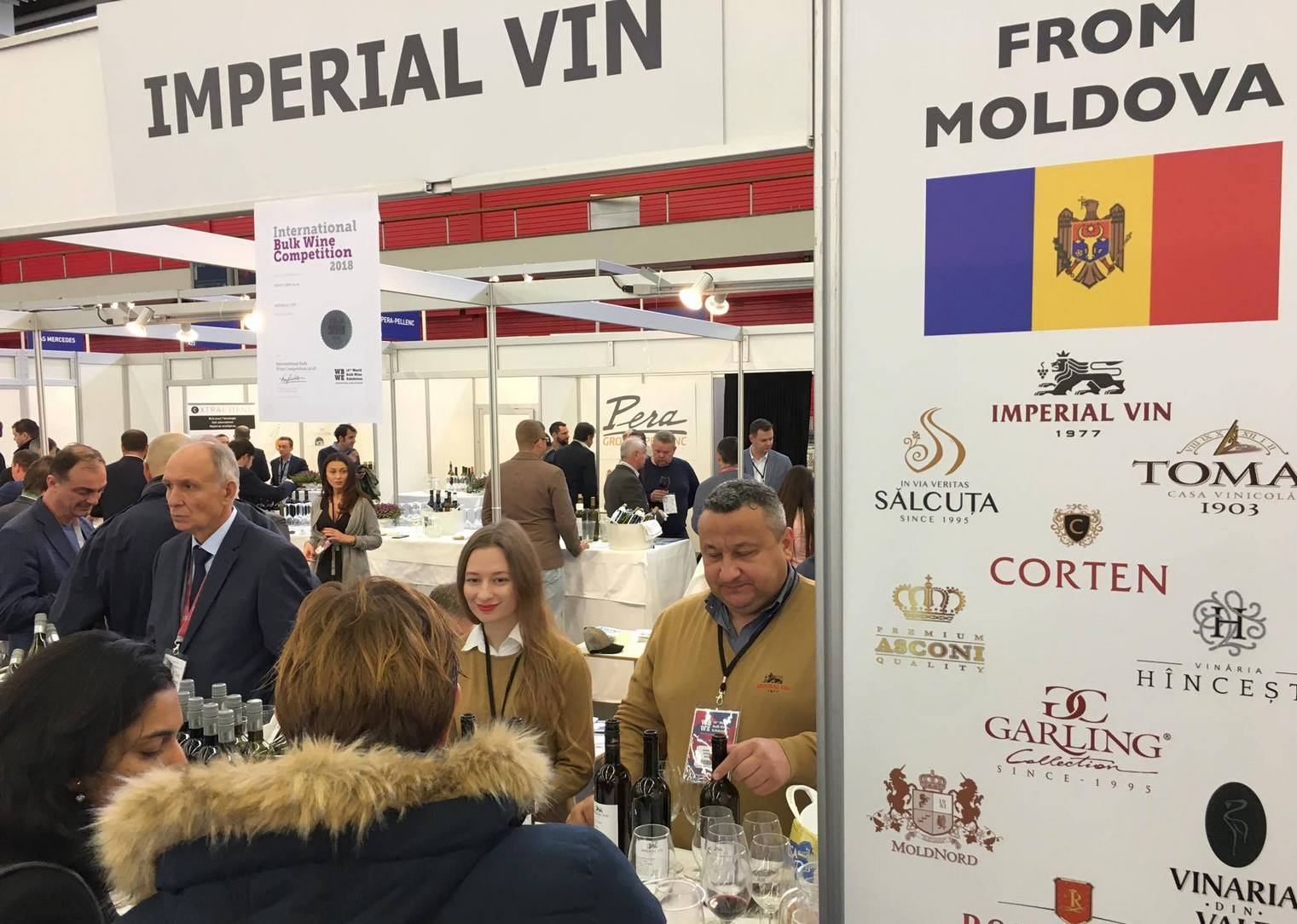 World Bulk Wine Exhibition Amsterdam - 2018